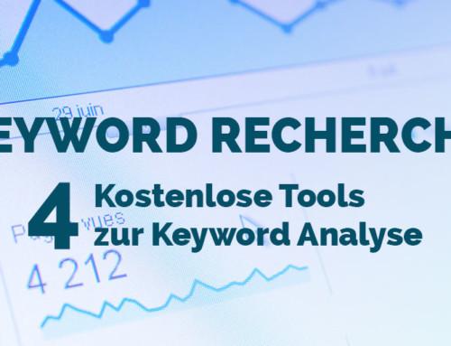 4 Kostenlose Tools zur Keyword Recherche