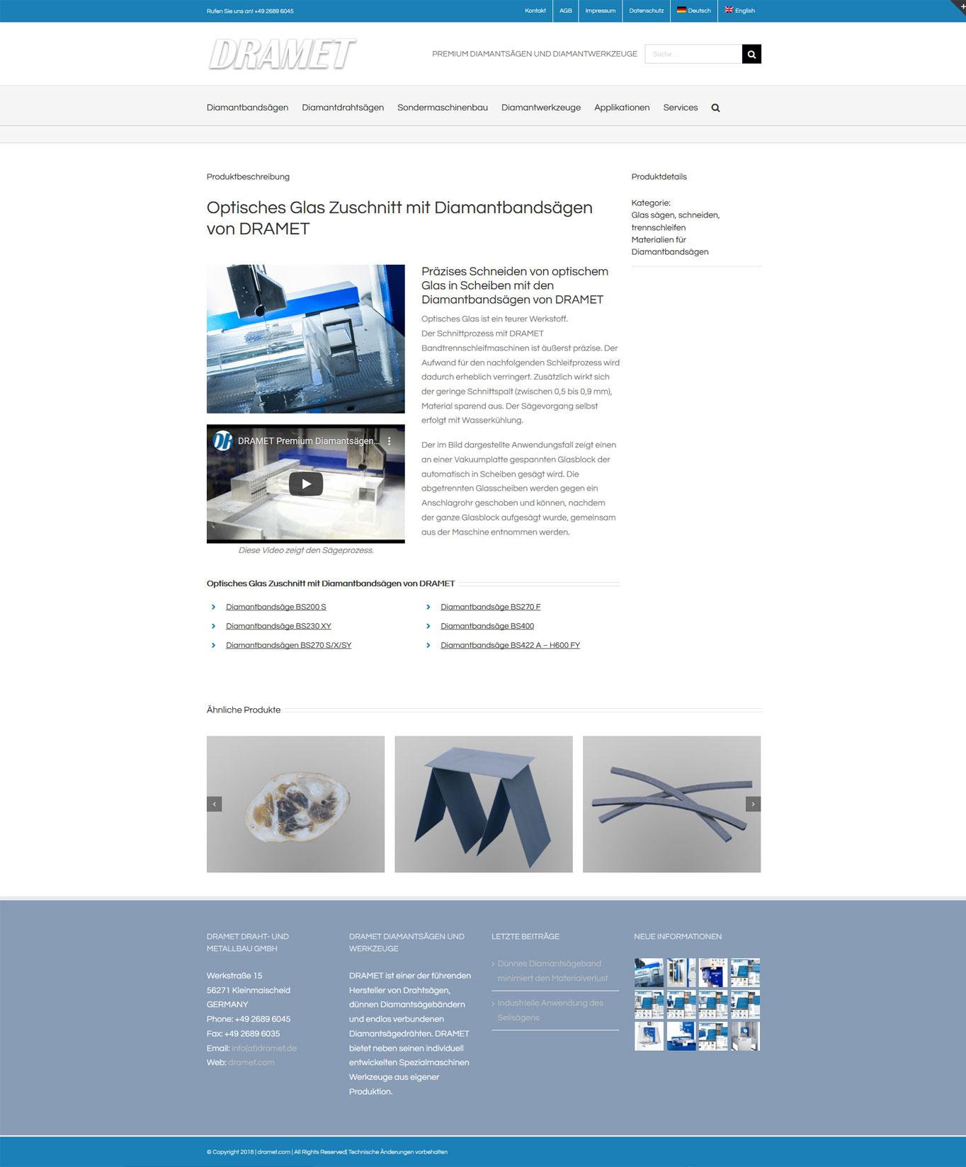 -DRAMET SEO und Marketing JF Mediendesign