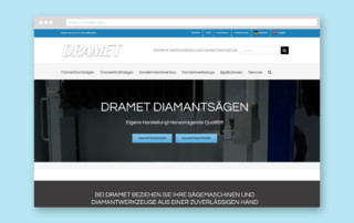 Dramet GmbH - SEO-Marketing Webdesign JF Mediendesign