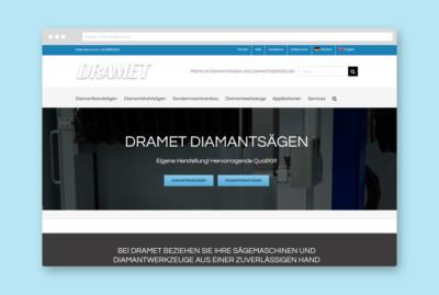 Dramet GmbH - SEO-Marketing Webdesign JF Mediendesign