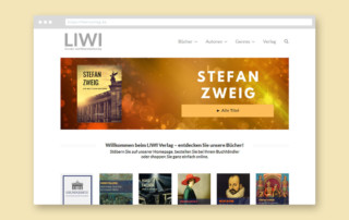 Liwi-Verlag Webdesign JF Mediendesign