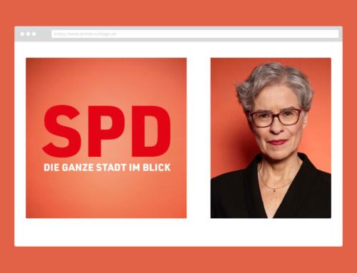Webdesign Britta Schlage – SPD Hamburg