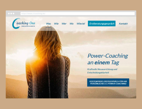 Webdesign C1-Coaching One
