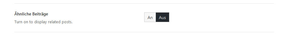 Avada Related Posts deaktivieren
