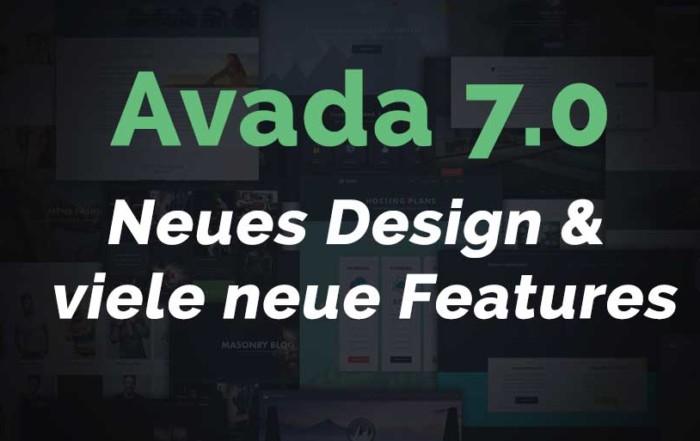 Avada 7.0 – Neues Design und viele neue Features