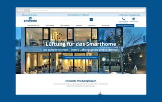 Webdesign enovento.de