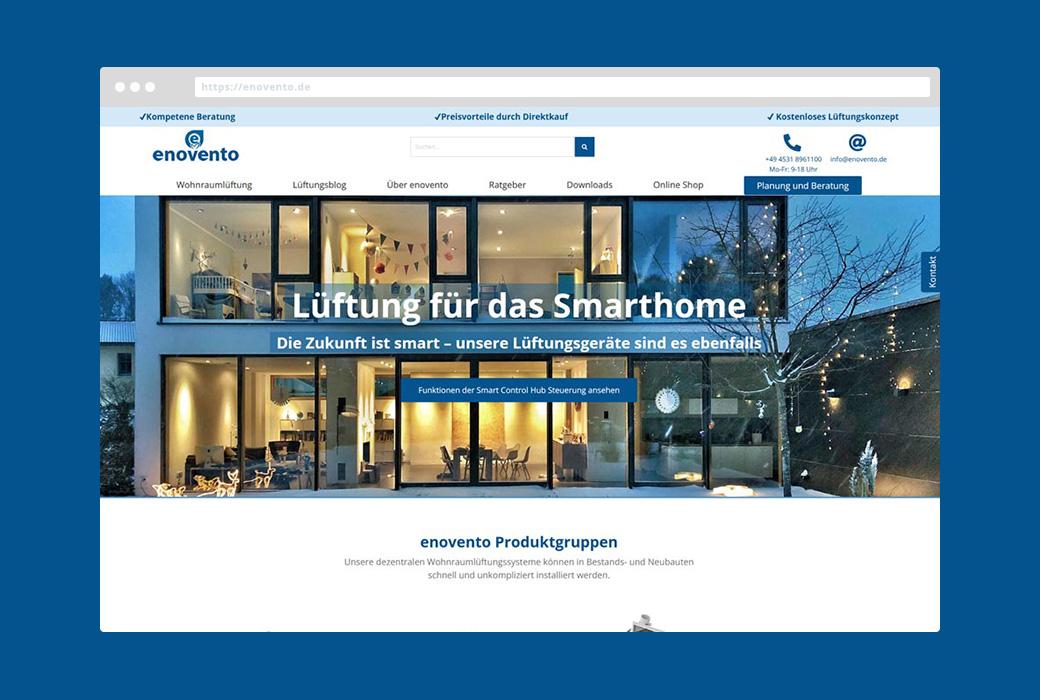 Webdesign enovento GmbH
