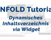 Enfold Tutorial – Dynamisches Inhaltsverzeichnis via Widget