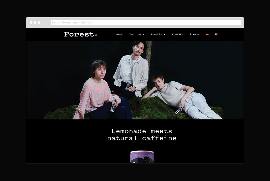 Webdesign Forestlemonade